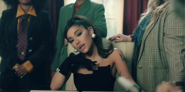 Ariana Grandes Positions Music Video Shows Fashion  Sexuality As Acts  of Politics