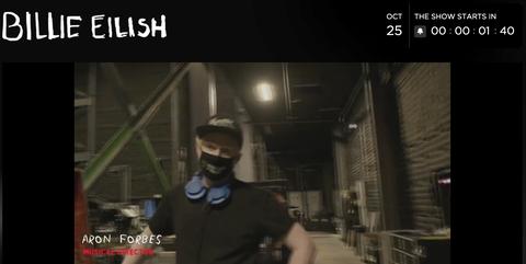 獨家/billie eilish怪奇比莉首場線上虛擬演唱會照樣精彩