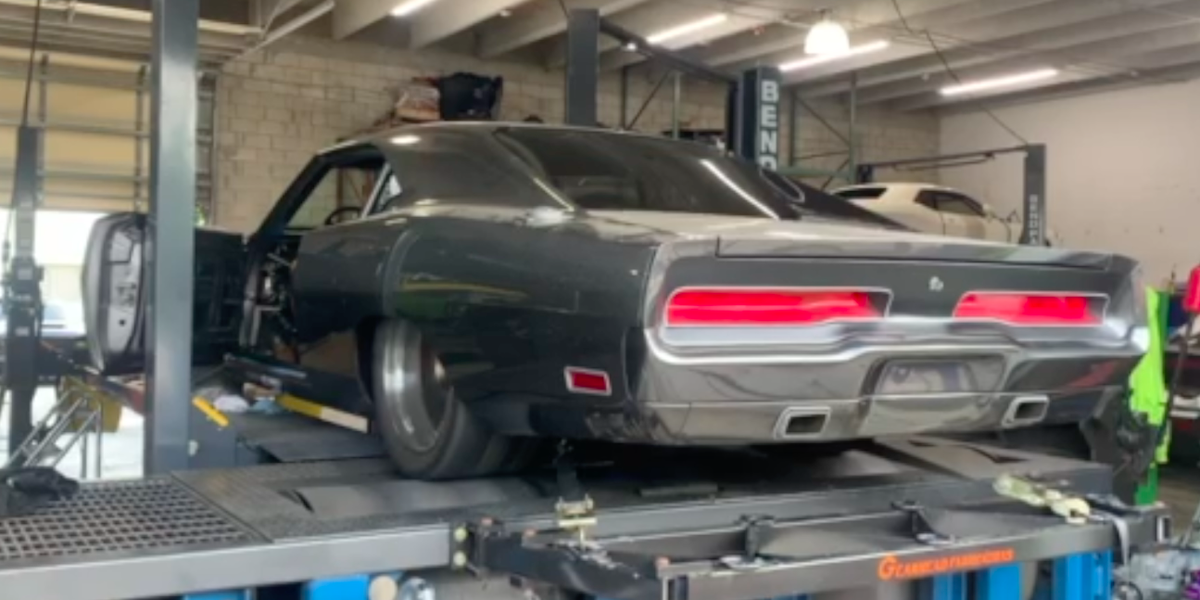 Watch a Hellephant-Powered 1970 Dodge Charger Decimate a Dyno
