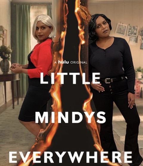 mindy kaling as the characters from little fires everywhere halloween