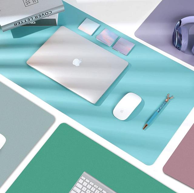 multi color leather desk pads