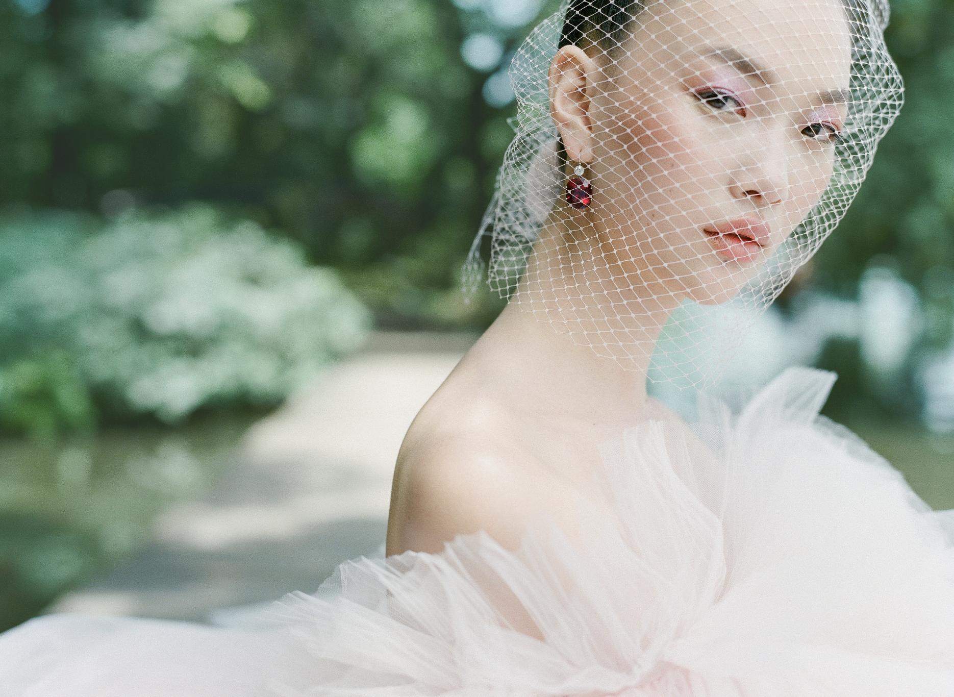 Crystal bridal hair piece Black crystal hair pin Wedding hair piece for bridesmaids