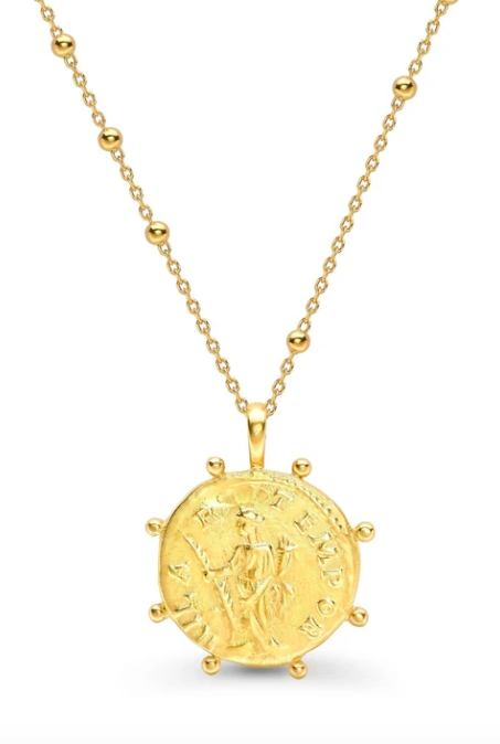 missoma coin necklace