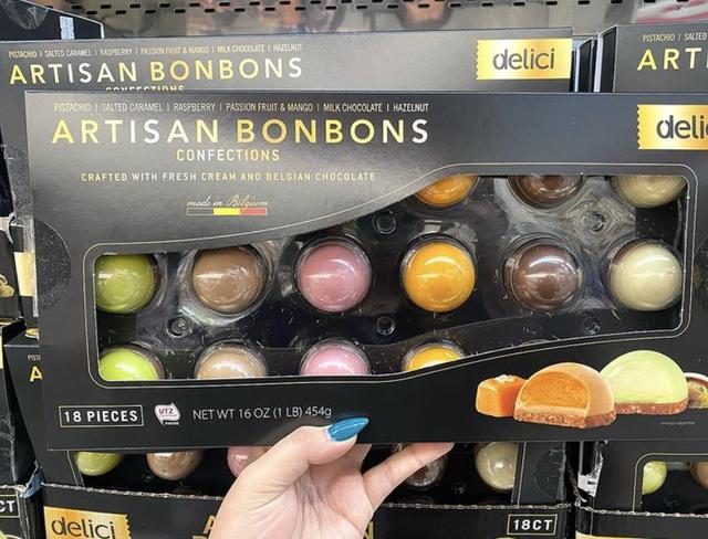 artisan bonbons confections costco belgian chocolates