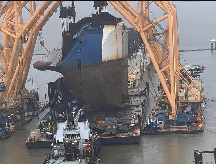 Récupération du transporteur de voitures Golden Ray après son naufrage Screen-shot-2020-12-02-at-10-40-30-am-1606923834