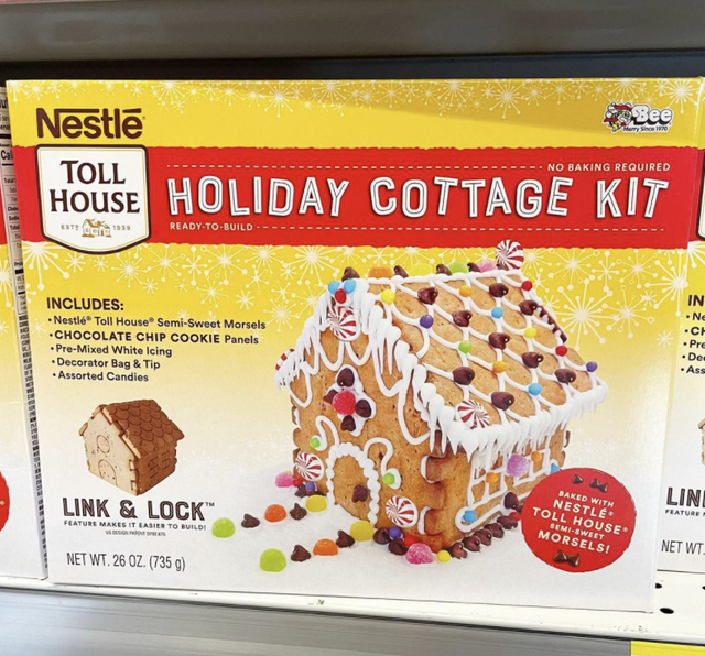 nestle toll house holiday cottage kit