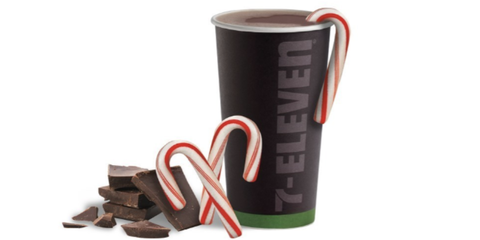 7-Eleven Has A New Candy Cane Cocoa To Keep You Warm This Season