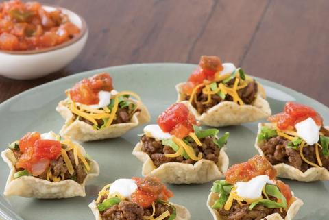 morceaux de tacos