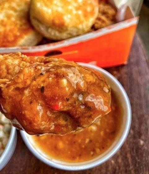 popeyes bonafide® chicken leg spicy or mild