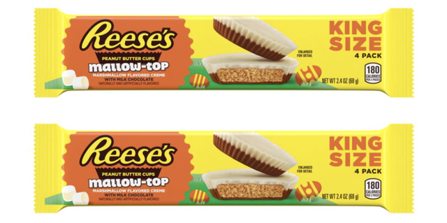 reese's mallow top marshmallow candy