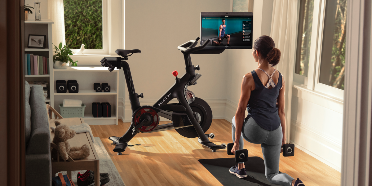 I Tried the New Peloton Bike+ — Here's What You Need to Know If You're Interested in Buying