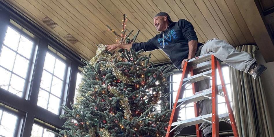 Поклонники зовут Тима МакГроу за его публикацию в Instagram о его рождественской елке