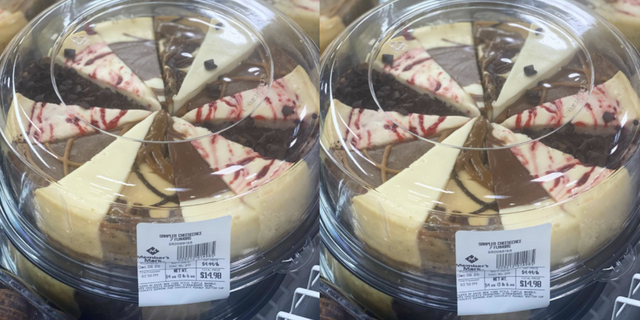 sam's club cheesecake sampler platter