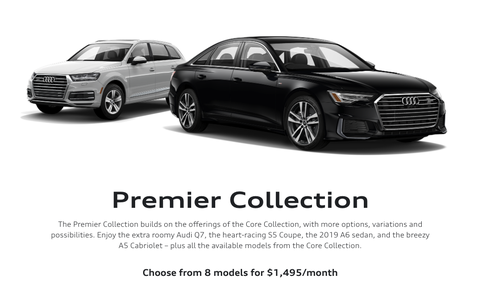 audi select subscription service