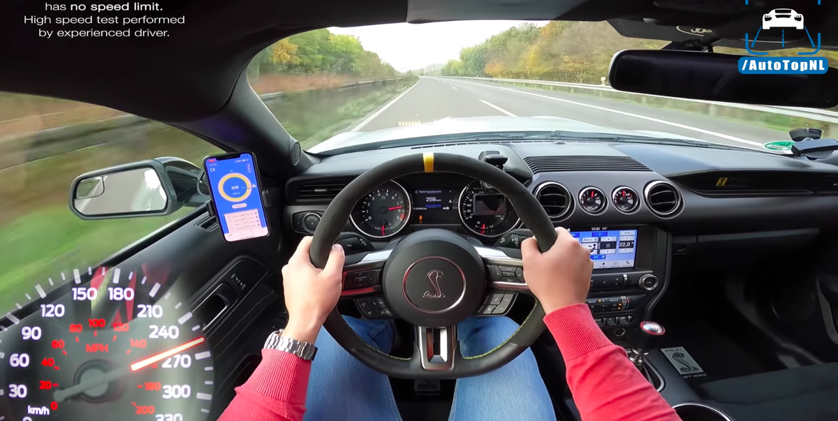 Listen to This Shelby Mustang GT350 Hit 172 MPH on the Autobahn