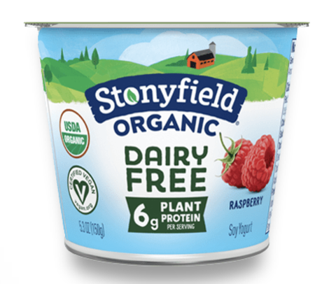 stony field organic raspberry dairy free yogurt plant based