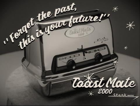 wandavision episode 1 commercial stark toaster