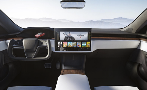 2021 tesla model s interior redesign
