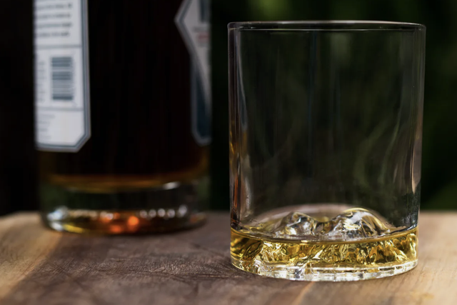 a whiskey glass
