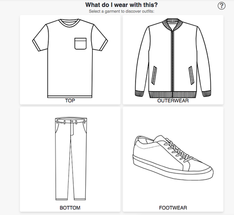 schematic of style options on twelveseventy