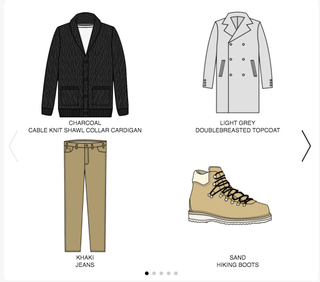 schematic of style options on twelve70