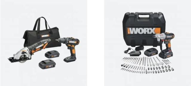 worx tool package