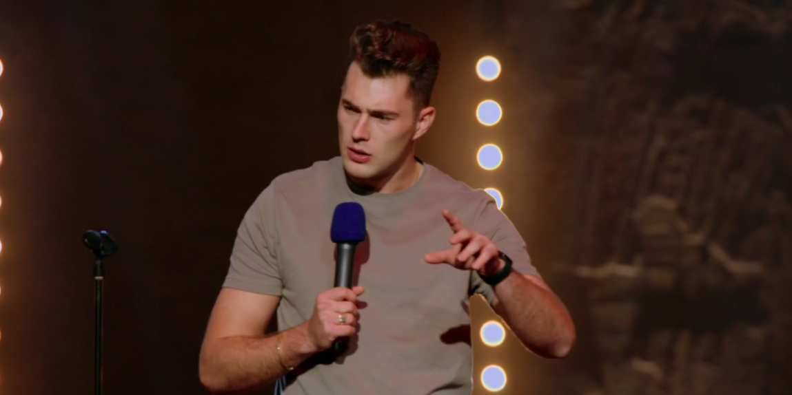 Love Island star Curtis Pritchard's comedy debut in new show sparks viewer debate