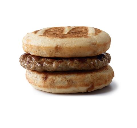 unique breakfast menu item mcdonald's mcgriddle
