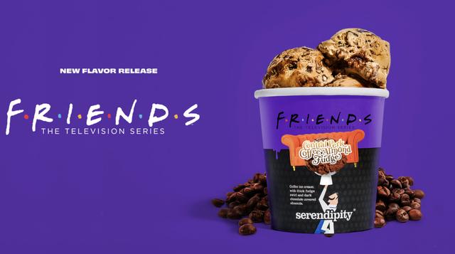 'friends' serendipity ice cream