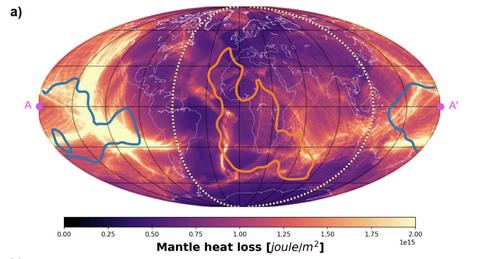 mantle heat loss