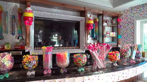 jojo siwa's candy room