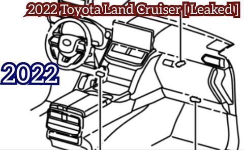 2022 land cruiser interior