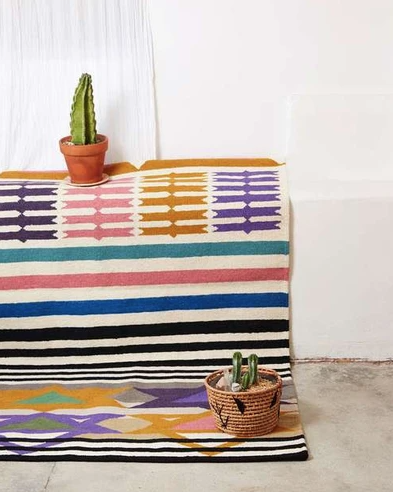 colorful rug