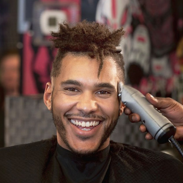 curly hair for black men