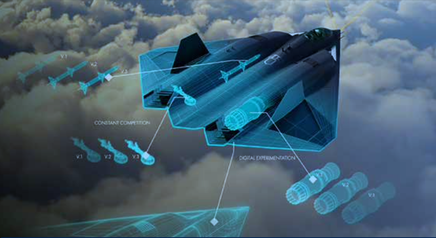 This Is Our First Look at the Air Force's Secret New Fighter Jet