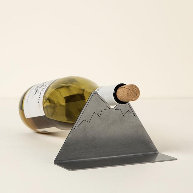 open bottle refrigerator wine rest