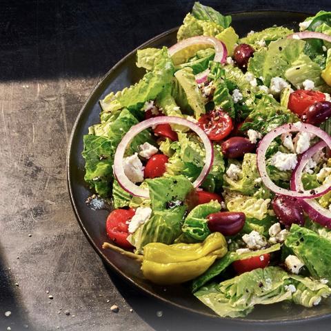 panera greek salad vegan men's health