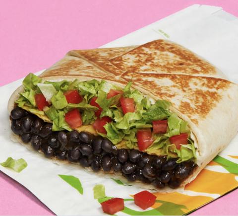 vegan taco bell men's health