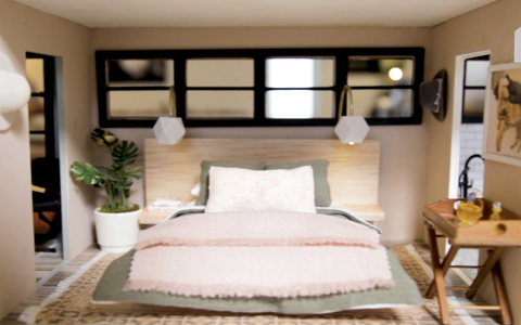 dollhouse beautiful bedroom
