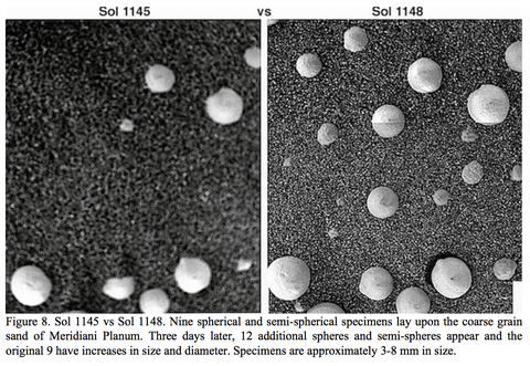 mushroom like spheres