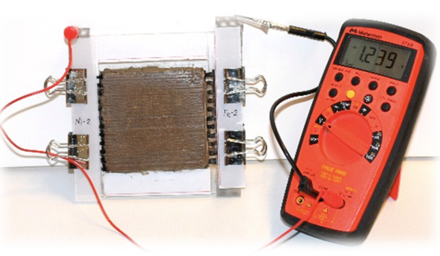 rechargeable cement battery