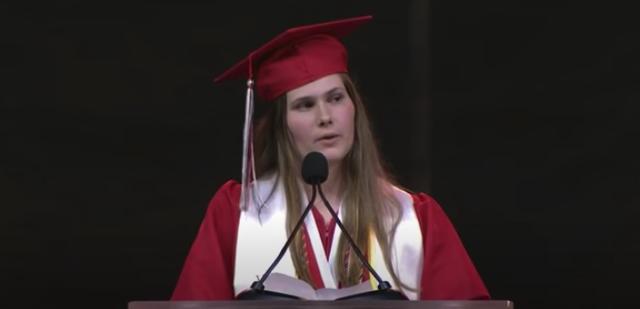 dallas high school valedictorian calls out texas abortion laws in graduation speech