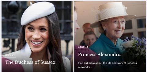 royal family website
