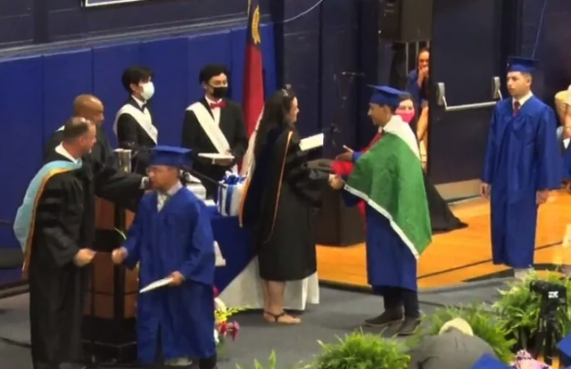 ever lopez was denied his high school diploma after he wore a mexican flag to graduation