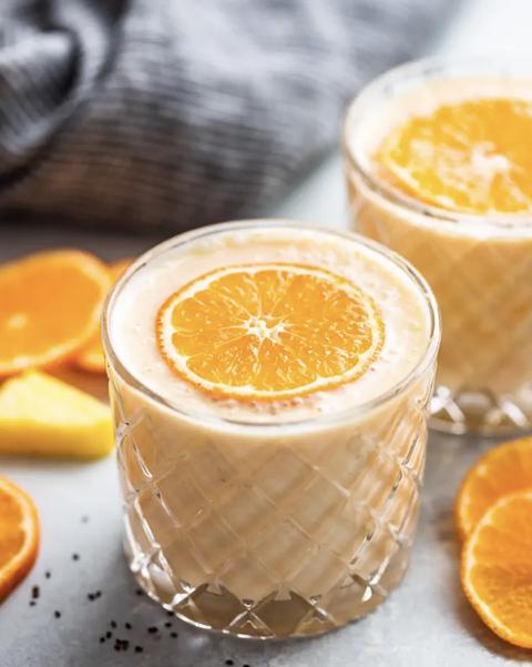 pineapple orange banana