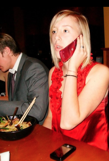 you can see my purity ring here i was 16 years old and this photo was taken at dinner before a high school dance in dallas, texas