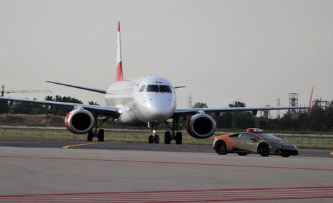 مطار لامبورغيني هوراكان إيفو بولونيا