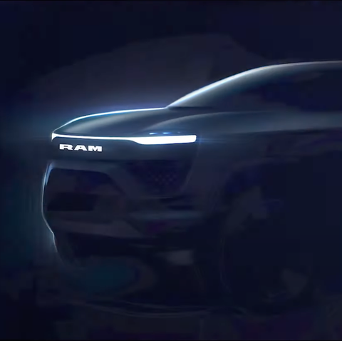 ram 1500 electric pickup
