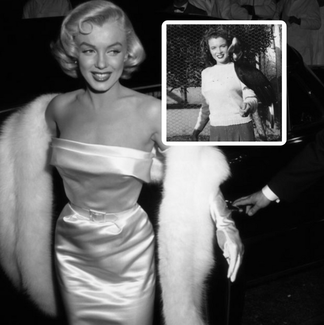 old hollywood stars before they were famous marilyn monroe