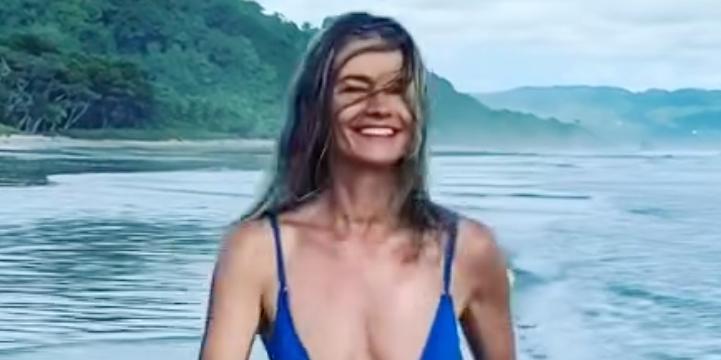 Paulina Porizkova, 56, Has a Slow-Mo 'Baywatch Moment' in New Bikini Instagram